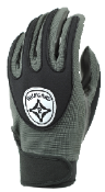 Gray Grip-Tack Receiver Gloves